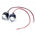 1W 470nm 30-Lumen Eagle Eye Blue Lights for Car (12V / Pair)