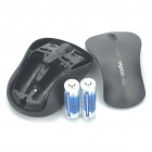 Rapoo 3000P 5.8GHz Wireless 1000DPI Optical Mouse with USB Receiver - Grey (2xAA)