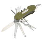 11-in-1 Stainless Steel Multi-Tool Knife (Random Color)