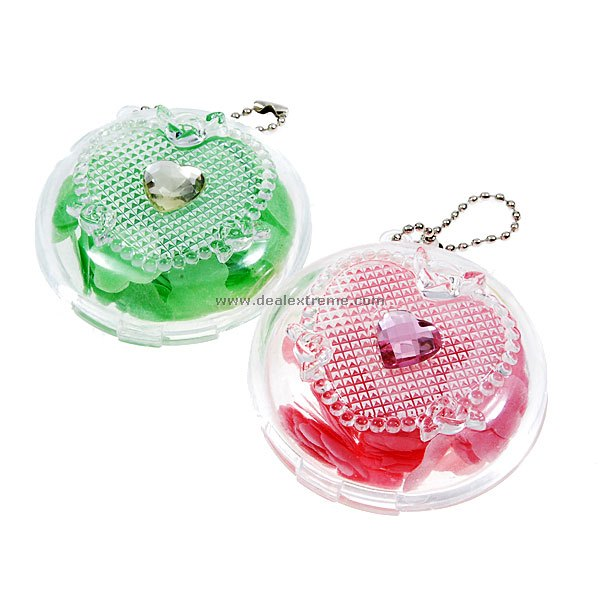 Paper Like Soap with Carrying Keychain Case (2-Keychain Set)