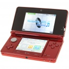 Original Nintendo 3DS Handheld-Konsole Core Pack - Red (2GB SD / US Version)