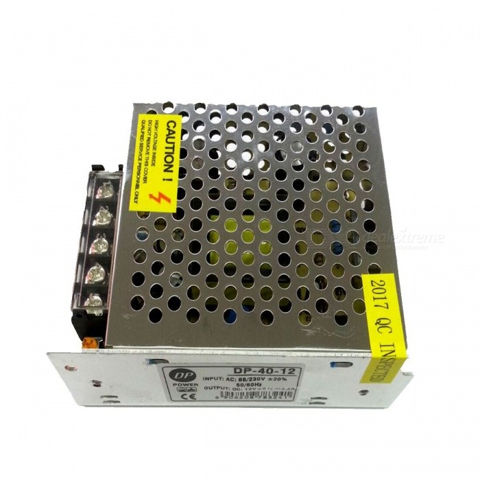 12V 3.2A Power Supply Transformer for LED Light Bulb (AC 86~230V)
