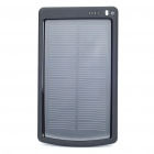 Portable Solar Powered 3000mAh Battery w/ Charging Adapters