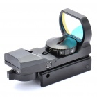 Tactical 4-Reticle Red Dot Sight Scope with Gun Mount - Black (1 x CR2032)