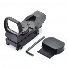 taktisch 4-Reticle Red Dot Sight Scope mit Pistole Mount-Schwarz (1 x CR2032)