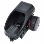 Tactical 4-Reticle Green/Red Dot Sight Rifle Scope Gun Mount -Black