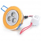 3W 3200K 100-Lumen 3-LED Warm White Light Bulb w/ LED Driver (AC 85~265V)