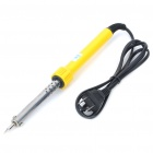 REWIN 40W Electronics DIY Welding Soldering Iron - Yellow (AC 220~240V)