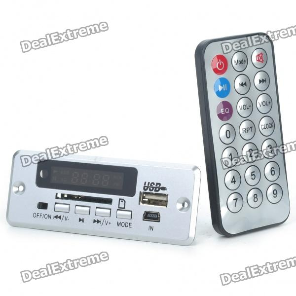 1.4 LED MP3 Player Module with FM/USB/SD/Remote Controller (DC 3.7V)