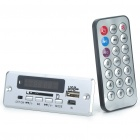 "1.4"" LED MP3 Player Module with FM/USB/SD/Remote Controller (DC 3.7V)"