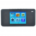 "JXD M500 2.8"" LCD Portable Multi-Media Player w/ 1.3MP Camera/FM/AV-In/AV-Out/TF - Black (2GB)"