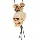 Cool Skull Heads Pendant Necklace for Halloween