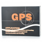 Portable Multi-Function Quadband GSM/GPRS/GPS Personal Position Tracker for Car/Child/Elder - Black