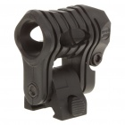 Multi-Position Flashlight Gun Mount for Picatinny Rail - Black (20mm Diameter)