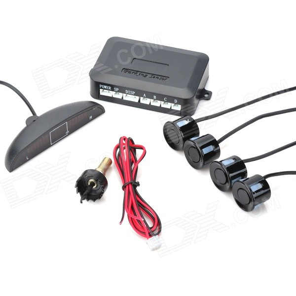 Black Parking Sensor/Radar Kit (DC 12V~24V) Hialeah Продаю по объявлению