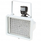 88W 88-LED 6500K 7200LM White Flood Light/Projection Lamp with PIR Camera
