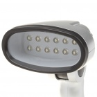 USB/3xAA Powered 12-LED White Light Desk Lamp
