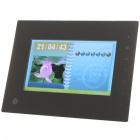 Digital Photo Frame w/Mini USB/3.5mm Audio Jack/SD/CF (800 x 480px/2GB)