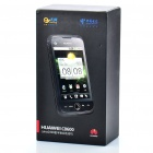 "Véritable Huawei C8600 3,5 ""CDMA capacitif Android 2.1 3G Smartphone w / multi-touch + WiFi - noir"
