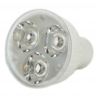 GU10 3.6W 6400K 200-Lumen 3-LED White Light Ceramic Bulb (AC 85~265V)