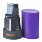 UV Sanitizer for Cell Phone/MP3/MP4 Player/Earphone + More - Purple (3 x AA)