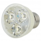 E27 3.6W 6400K 200-Lumen 3-LED White Light Ceramic Bulb (AC 85~265V)