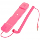 Radiation Protection Handset for Iphone/Ipad - Deep Pink (3.5mm Jack)