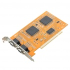 16 Channels PCI Surveillance Security Video Monitoring Capture Card