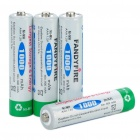 "FandyFire Rechargeable 1.2V ""1000mAh"" Ni-MH AAA Batteries (4-Piece)"