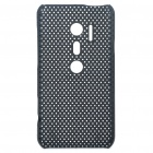 Mesh Protective PC Back Case for HTC EVO 3D / G17 - Black