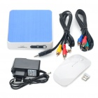 ITV01 1080P Full HD Android 2.3 Google TV Player w/ 3 x USB/SD/HDMI/WiFi/LAN/YPbPr/AV-Out/Optical