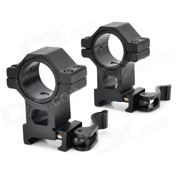 30mm Flashlight Laser Sight Mount Holders for 21mm Rail Gun (Pair) vector optics magnus green laser flashlight designator adjustable beam focus sight with scope mount ring fit night vision