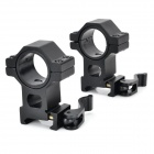 30mm Flashlight Laser Sight Mount Holders for 21mm Rail Gun (Pair)