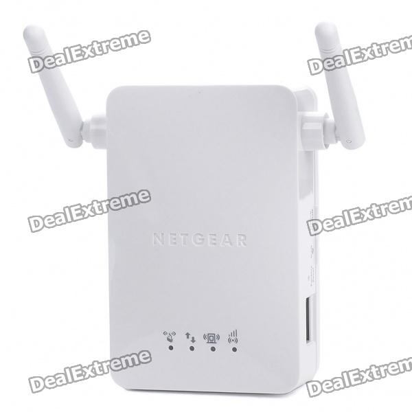 Netgear WN3000RP Universal Wireless Range Extender for IEEE 802.11b/g/n - White