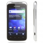 "Zeus A3 4.0"" Android 2.3.4 Capacitive 3G WCDMA Dual SIM w/ WiFi + TV - White"