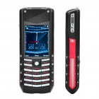 "Vertu G7 2.0"" LCD Single SIM Quadband Bar phone w/ FM - Black + Red"
