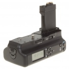 "MEIKE 1.5"" LCD Multi-Power Battery Timer Grip w/ Remote Control for Canon 550D (1 x CR1620)"