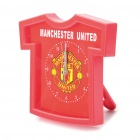 Football/Soccer Team Jersey Shaped Alarm Clock - Manchester United (1xAA)