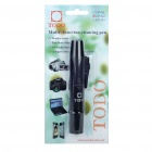 Lens Cleaning Pen with White LED Light & Compass for Digital Cameras (3 x AG3)