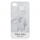 Remembering Steve Jobs Protective Plastic Back Case for iPhone 4 (#2)