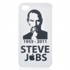 Remembering Steve Jobs Protective Plastic Back Case for iPhone 4 (#3)