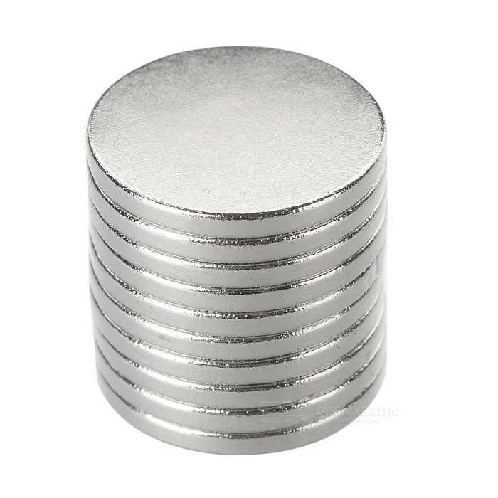 Super Strong Rare-Earth RE Magnets (18mm x 2mm / 10-Pack)