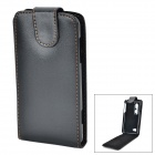 Protective PU Leather Case for LG Optimus 3D P920 - Black