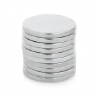 Super Strong Rare-Earth RE Magnets (20mm x 2mm / 10-Pack)