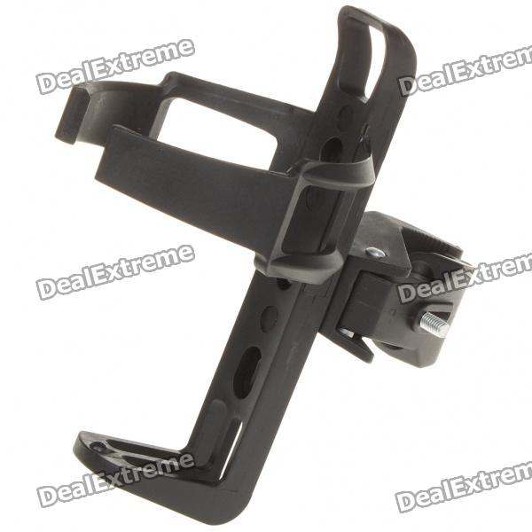 Bicycle Bike Quick Release Water Bottle Mount Holder - Black