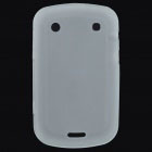 Protective PVC Back Case for BlackBerry 9900 - Translucent White