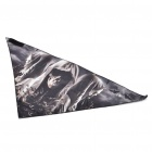 Multi-Purpose Skeleton Pattern Triangular Scarf Mask