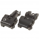 TROY Folding Stahl Front + Rear Sight Combo
