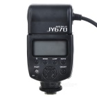 JY-670 5500K valkoinen LED Macro Ring Flash valo DSLR kamera (4 x AA/LR6)