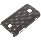 Mesh Protective PC Back Case for HuaWei C8600 - Black